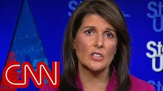 Nikki Haley: US not looking to do regime change in Iran