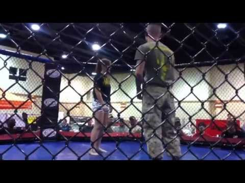 Marine Slams Pretty BJJ Girl and Still Gets Choked Out by the sexy female bjj whizz Image 1
