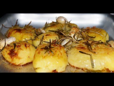 Целый картофель духовке рецепт с фото