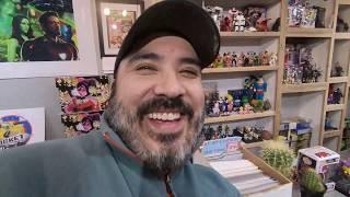 * ROCKET COMICS & Toy STORE Tour - Michigan /  BIG Burrito Eating Challenge