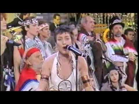 Sabina Guzzanti e la Riserva Indiana – Troppo sole – Sanremo 1995.m4v