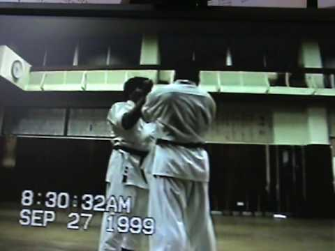 Taira Sensei in the Jundokan 1999