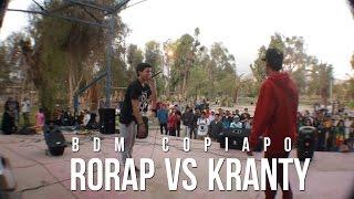 BDM Copiapo / Semifinal / Rorap vs Kranty
