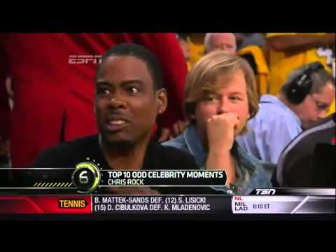 Sports Center Top 10- Celebrity Moments