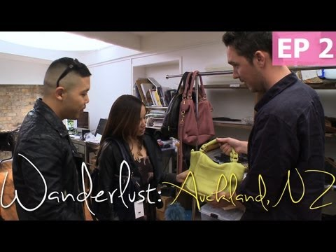 Visiting an Auckland Handbag Designer | Wanderlust: New Zealand [EP 2]