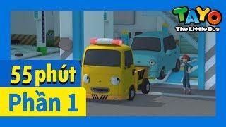 Tayo Phần1 Tập11-15 biên soạn l Tayo xe buýt bé nhỏ l Phim hoạt hình cho trẻ em