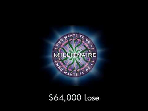$64.000 Lose - Who Wants To Be A Millionaire? video