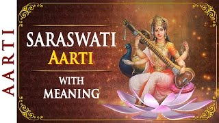 Download Om Jai Saraswati Mata - Saraswati Aarti with Lyrics | Bhakti Songs 3Gp Mp4