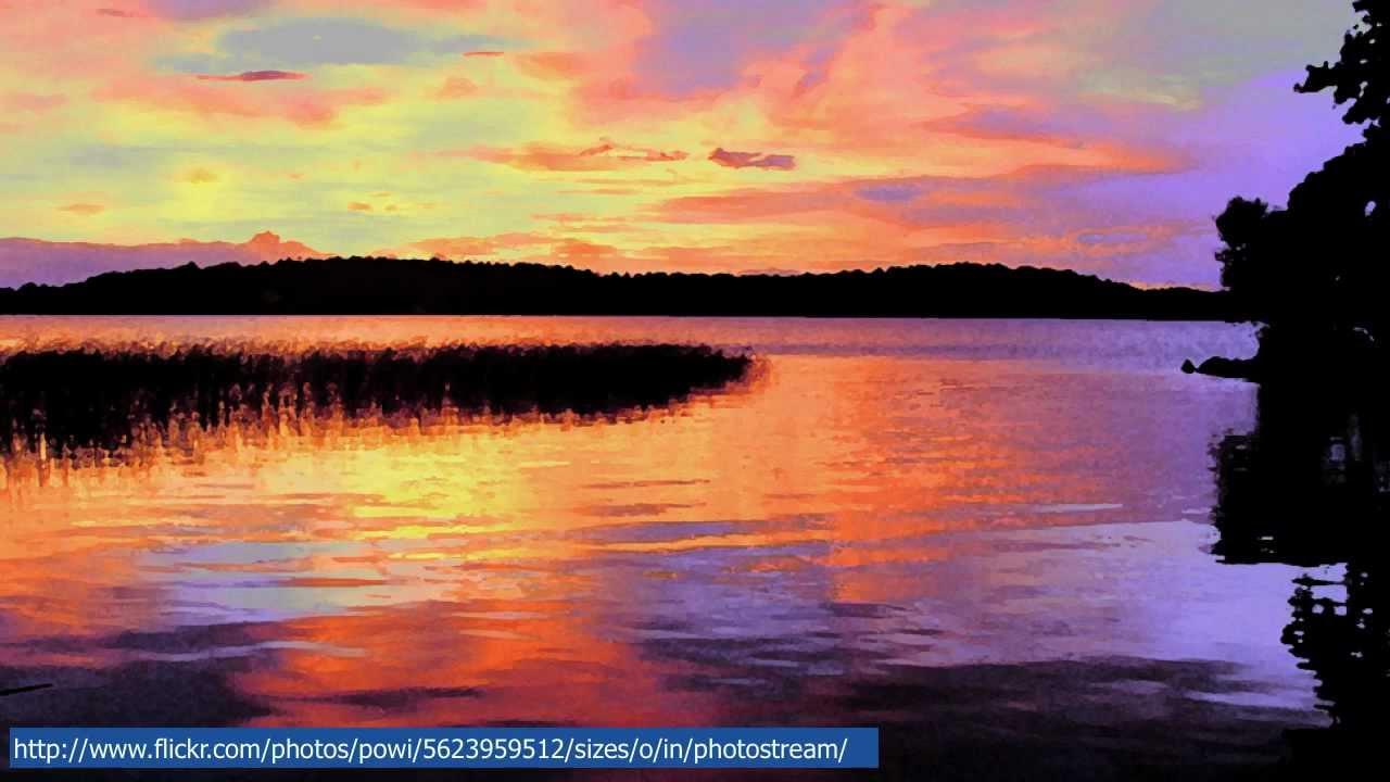 Musica rilassante su immagini di natura per un momento di for Immagini per desktop natura