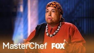 Rudy Reyes from Auditions | MASTERCHEF | FOX BROADCASTING