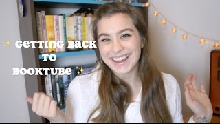 Getting Back to Booktube (Original Tag)