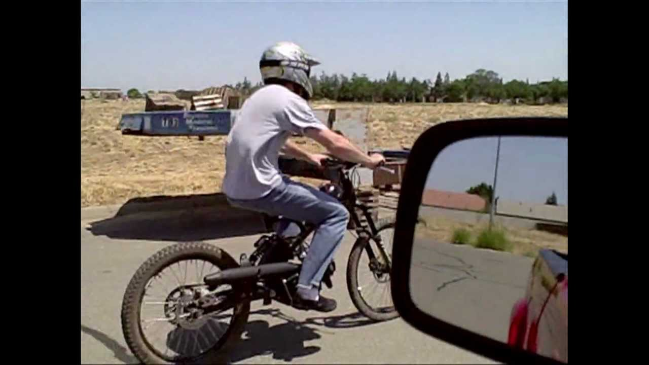 Homemade dirt bike 2 youtube for What is dirt made out of