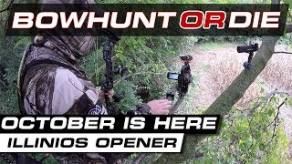 Illinois Bow Season Opener - Bowhunt or Die Season 09 Episode 17