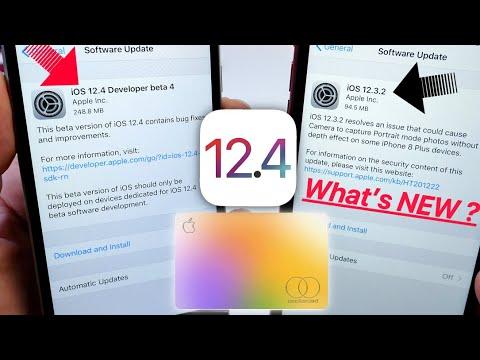iOS 12.4 Beta 4 & iOS 12.3.2 What's New ?