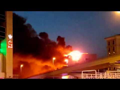 Fire in Dubai 1