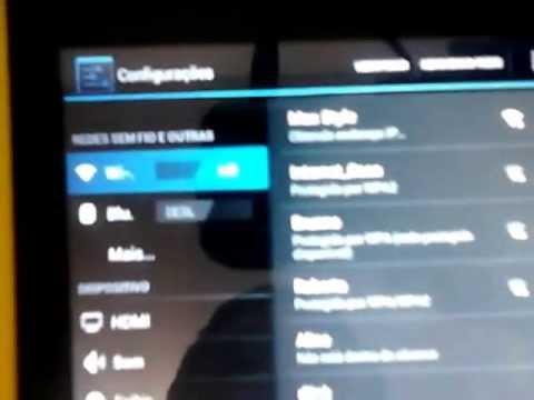 Tablet Positivo Ypy - não conecta internet wifi
