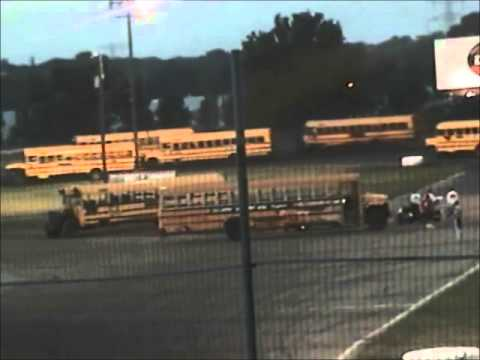 7-16-06 Bus Racing at Raceway Park, Shakopee MN