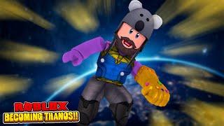 USING ADMIN COMMANDS AS THANOS!! | Roblox Superhero Tycoon