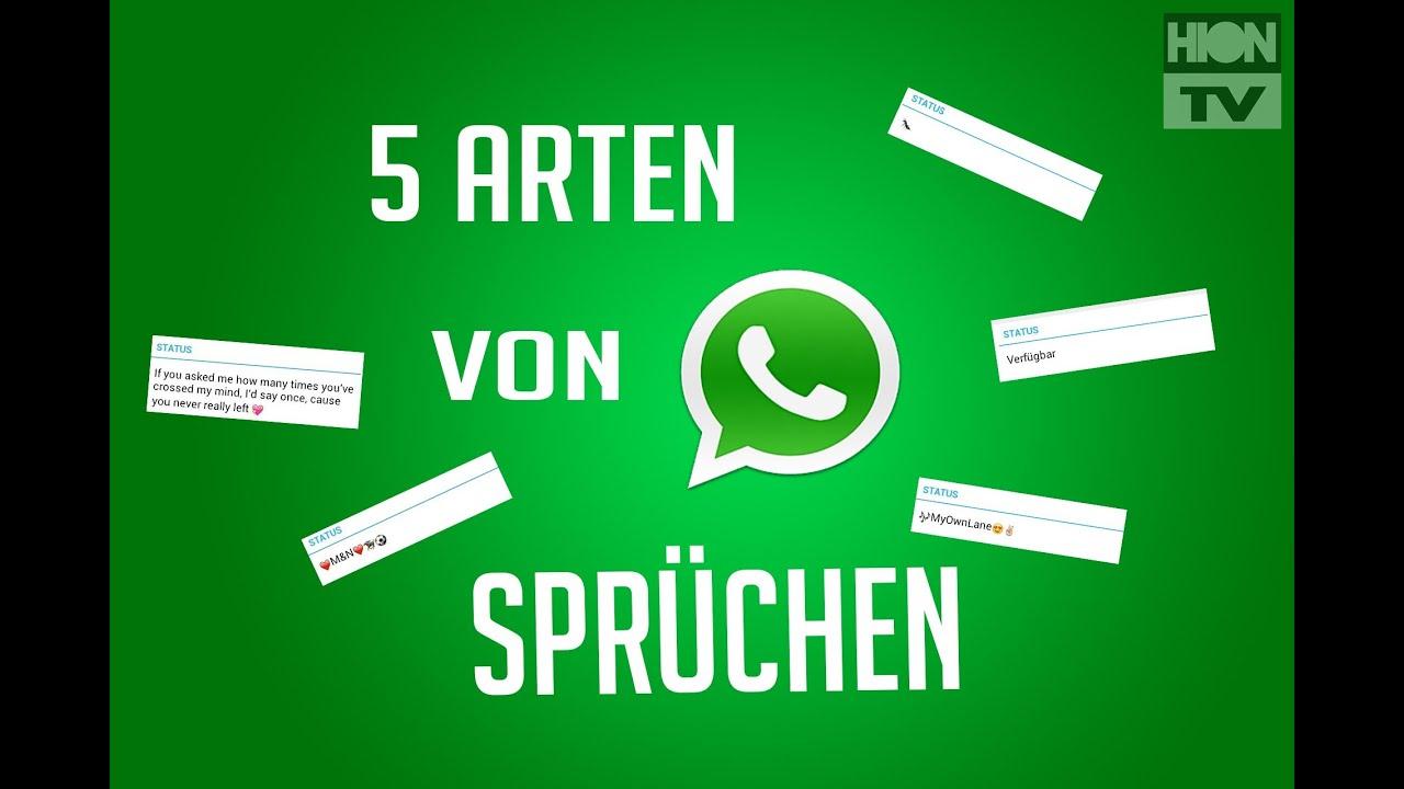 Arten von Whatsapp Sprüchen [FullHD/HionTV] - YouTube