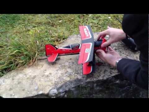 NEW AS3X E-flite UMX BEAST 3D mit with AS3X Testflug Testflight