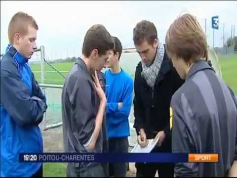 Reportage Section Sportive Arbitrage de Niort - France 3 Poitou-Charentes