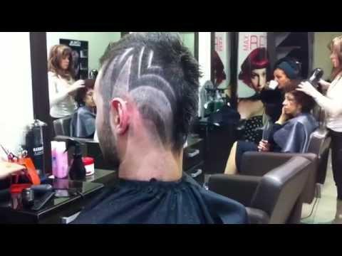 Hair Tattoo design  tutorial For men