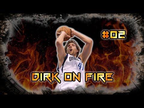 NBA 2K16 Mein GM - Ep. #02 - Dirk on fire!