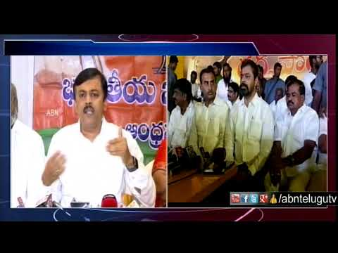 TDP MP CM Ramesh serious on GVL Narasimha Rao Comments | ABN Telugu