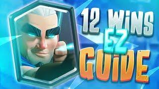 12-0 Magic Archer Challenge Pro Tips EZ WINS BABY | Clash Royale