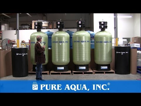 Pure Aqua | Twin Water Softener Systems Saudi Arabia, 2 x 185 GPM