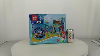 Mở hộp Lepin 25010 Lego Disney Princess 41145  Ariel and the magical spell