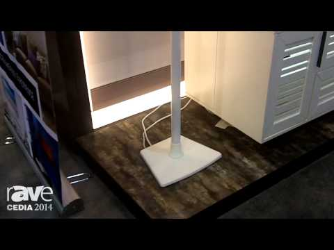 CEDIA 2014: SANUS Adds Its Wireless Speaker Stands for SONOS PLAY Speakers