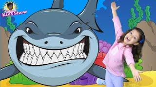 Baby Shark Original | Kids Songs and Nursery Rhymes Sing and Dance | Animal Songs with Valeria Kids