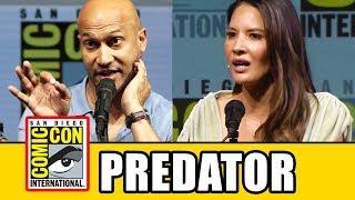 THE PREDATOR (2018) Comic Con Panel