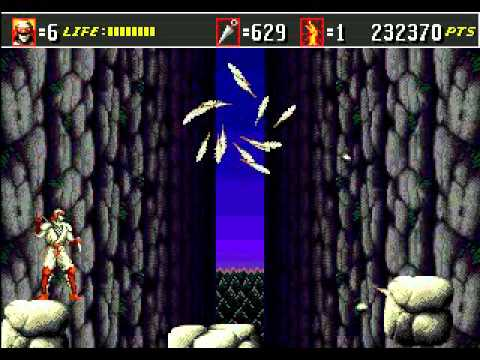 Shinobi III: Return of the Ninja Master Genesis Longplay
