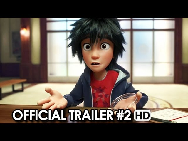 Big Hero 6 Official Trailer #2 (2014) HD