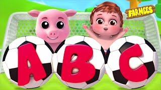 ABC Song for Kids   Alphabet Phonics   Kids Learning Videos