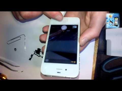 Качество пайки микросхем у айфона 4 очень низкое