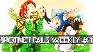 Dota 2 - Spotnet Fails Weekly #1