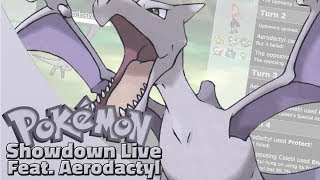 Choice Band Aerodactyl! Pokemon Sun and Moon OU Showdown Live W/OPJellicent (Smogon OU Team)