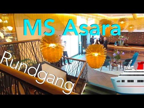 MS Asara - Rundgang (neustes Flussschiff)