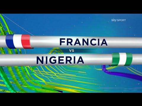 FRANCIA VS NIGERIA 2-0 ► Ampia Sintesi Sky Sport Mondiali 2014 HD