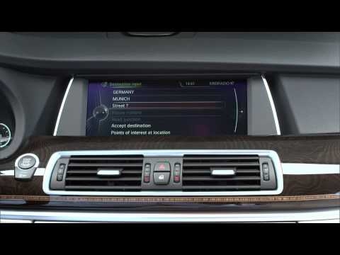 2014 BMW 535i GT facelift - driving and beauty footage