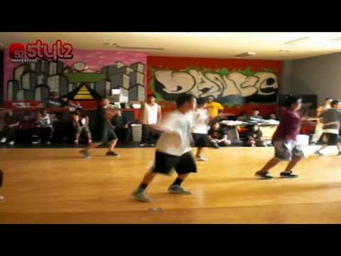 Dominic Yepez teaching @ Stylz Dance Studio (Barkada Modern Workshop) Music Videos