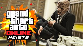 THE BIG BANK ROBBERY (GTA 5 Heists Funny Moments)