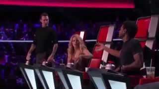download lagu The Voice  Best SHAKIRA COVERS In The Blind gratis