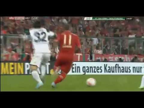Arjen Robben Tor Bayern München 6-1 VfL Wolfsburg - DFB Pokal 16-04-2013