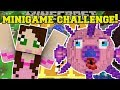 Minecraft: GAMINGWITHJEN MINI-GAME CHALLENGE!!!