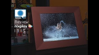 Nixplay Iris Review - Show YOUR photos in my living room!?!?
