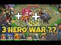 download mp3 dan video 3 HERO SAJA BUAT WAR ?? | KONFLIK KASTIL | CASTLE CLASH ID